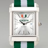 University of Miami Collegiate Watch with NATO Strap for Men