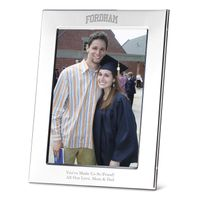 Fordham Polished Pewter 5x7 Picture Frame