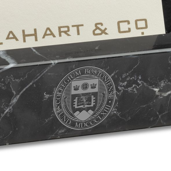 Boston College Marble Business Card Holder - Image 2