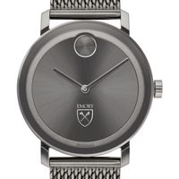 Emory University Men's Movado BOLD Gunmetal Grey with Mesh Bracelet