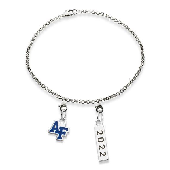 USAFA 2022 Sterling Silver Bracelet - Image 1