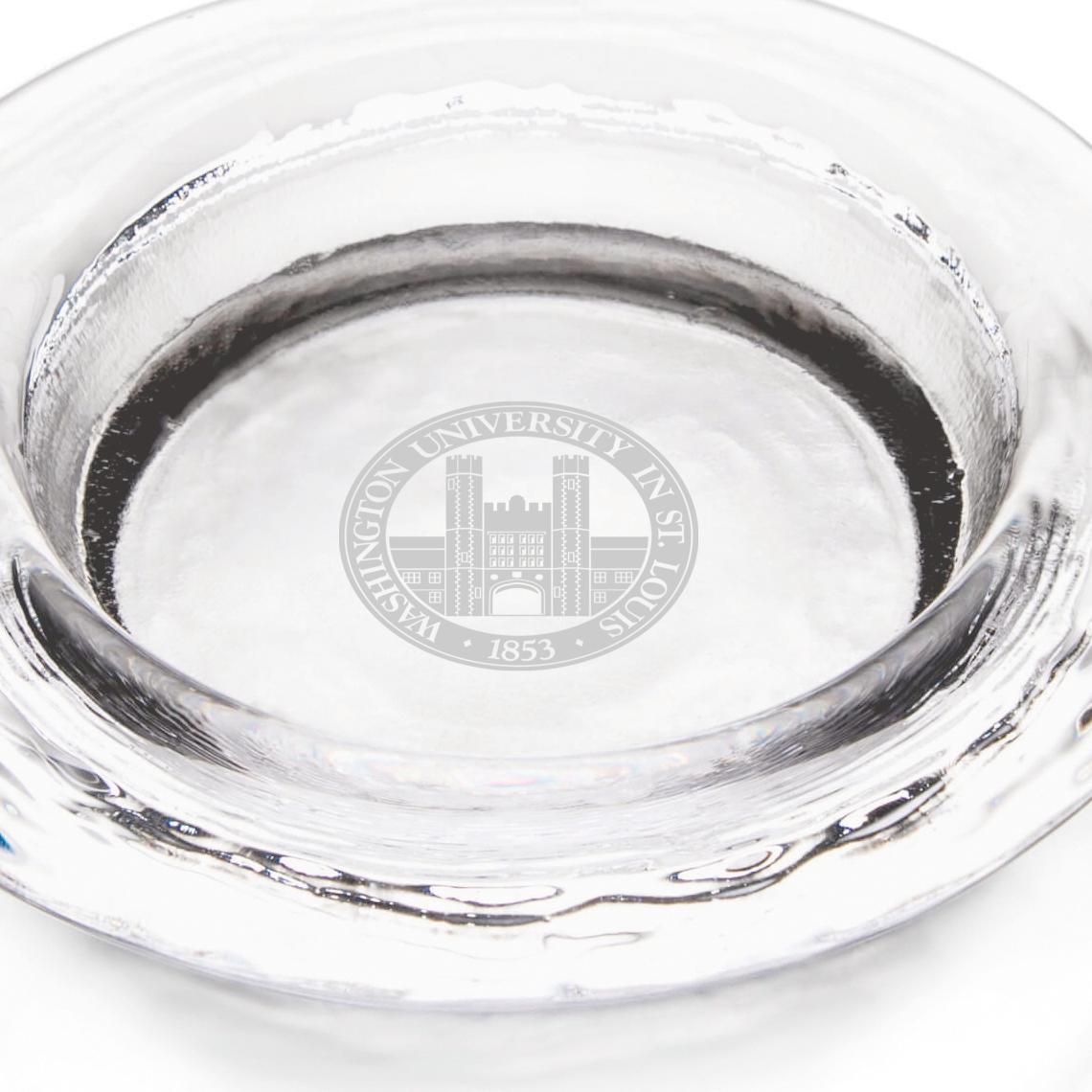 WUSTL Glass Wine Coaster by Simon Pearce - Image 2