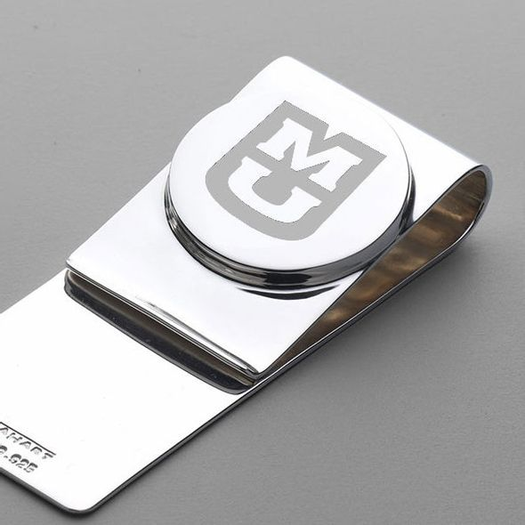 University of Missouri Sterling Silver Money Clip - Image 2