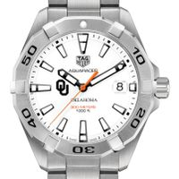 University of Oklahoma Men's TAG Heuer Steel Aquaracer