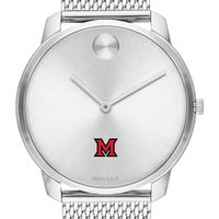 Miami University Men's Movado Stainless Bold 42