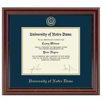 University of Notre Dame Diploma Frame, the Fidelitas