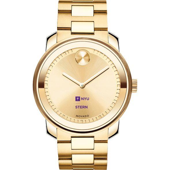 NYU Stern Men's Movado Gold Bold - Image 2