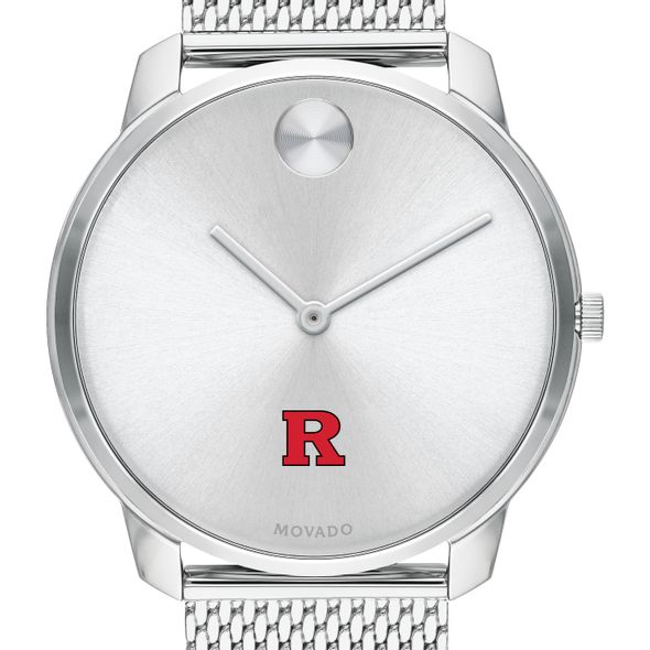 Rutgers University Men's Movado Stainless Bold 42