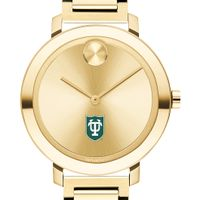 Tulane University Women's Movado Gold Bold 34