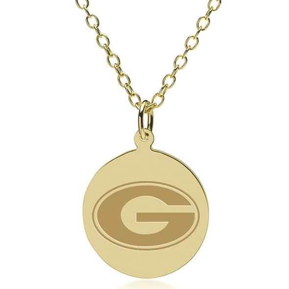 Georgia 14K Gold Pendant & Chain