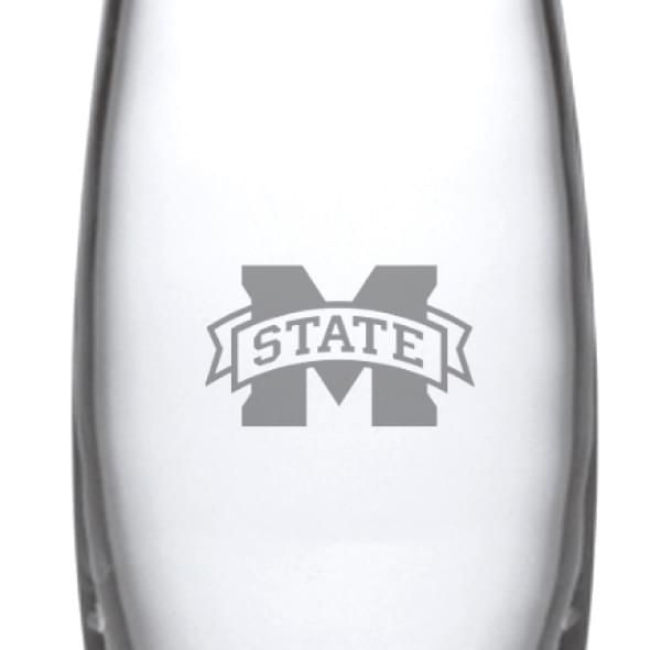 Mississippi State Glass Addison Vase by Simon Pearce - Image 2