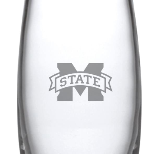 Mississippi State Glass Addison Vase by Simon Pearce - Image 2