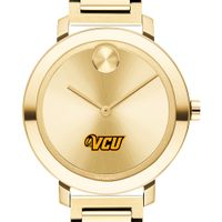 Virginia Commonwealth University Women's Movado Gold Bold 34