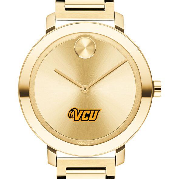Virginia Commonwealth University Women's Movado Gold Bold 34 - Image 1