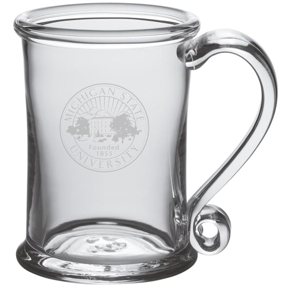 Michigan State Glass Tankard by Simon Pearce