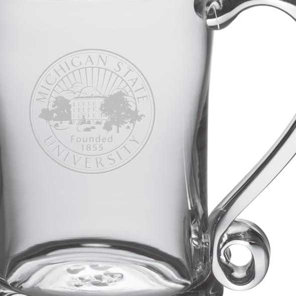Michigan State Glass Tankard by Simon Pearce - Image 2