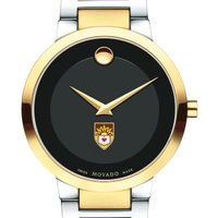 Lehigh University Men's Movado Two-Tone Modern Classic Museum with Bracelet