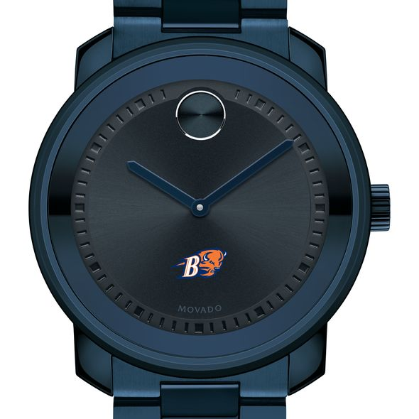 Bucknell University Men's Movado BOLD Blue Ion with Bracelet