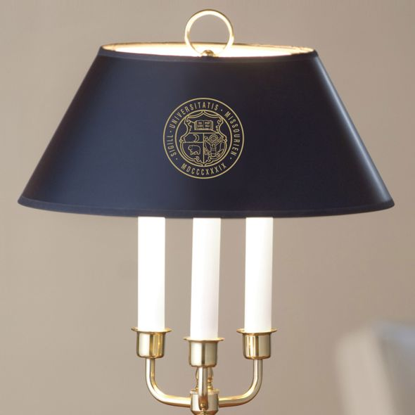 University of Missouri Lamp in Brass & Marble - Image 2