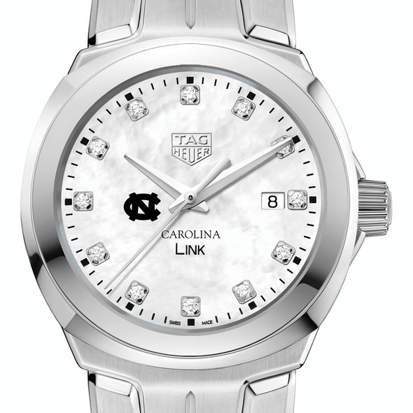 University of North Carolina TAG Heuer Diamond Dial LINK for Women