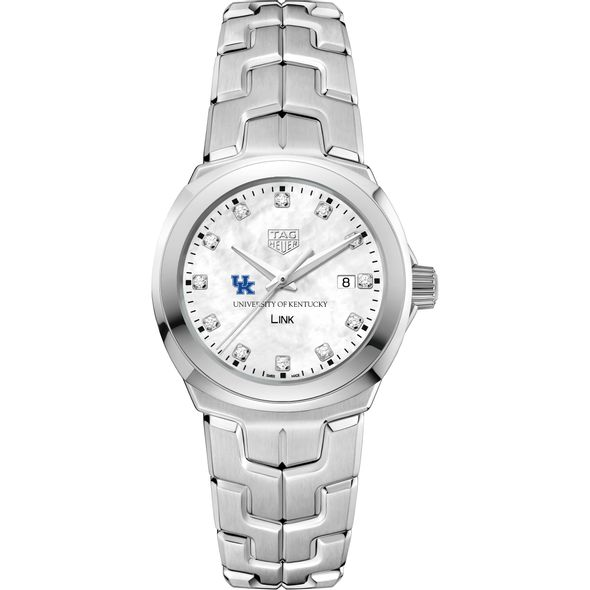 University of Kentucky TAG Heuer Diamond Dial LINK for Women - Image 2