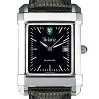Tulane Men's Black Quad with Leather