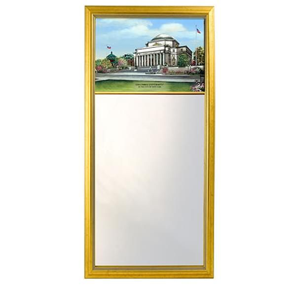 Columbia Eglomise Mirror with Gold Frame - Image 2