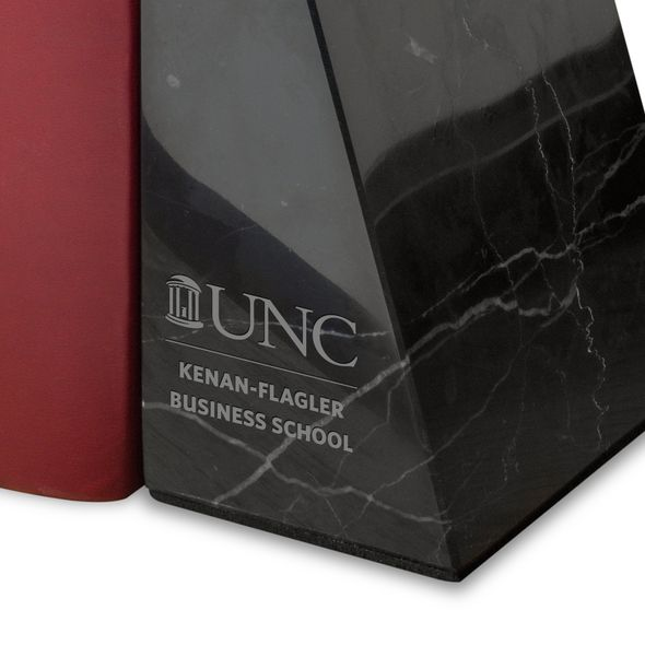 UNC Kenan-Flagler Marble Bookends by M.LaHart - Image 2