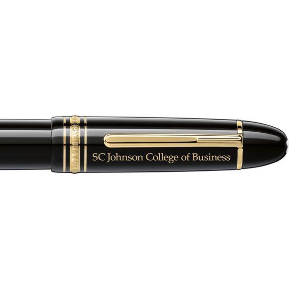 SC Johnson College Montblanc Meisterstück 149 Fountain Pen in Gold - Image 2
