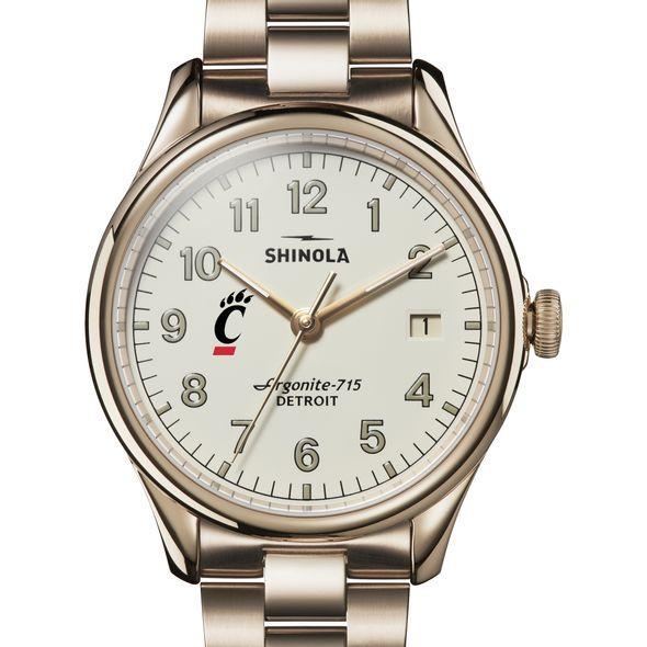 Cincinnati Shinola Watch, The Vinton 38mm Ivory Dial - Image 1