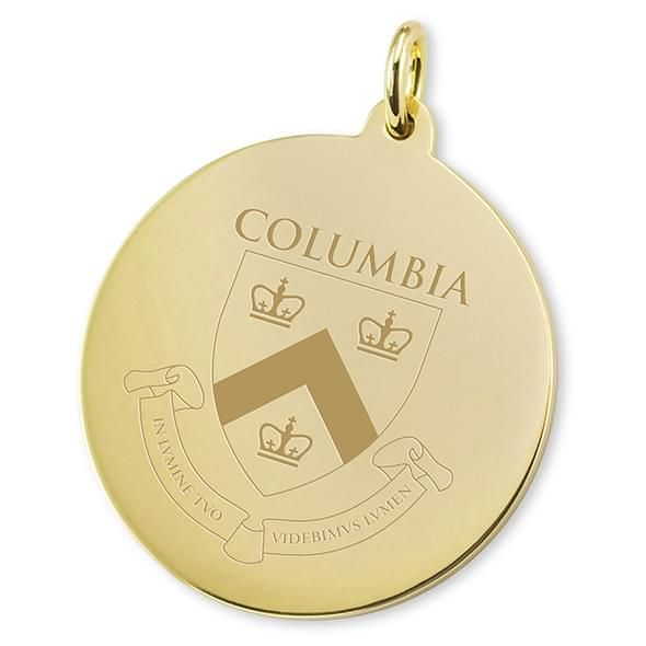 Columbia 14K Gold Charm - Image 2