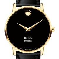 UVA Darden Men's Movado Gold Museum Classic Leather