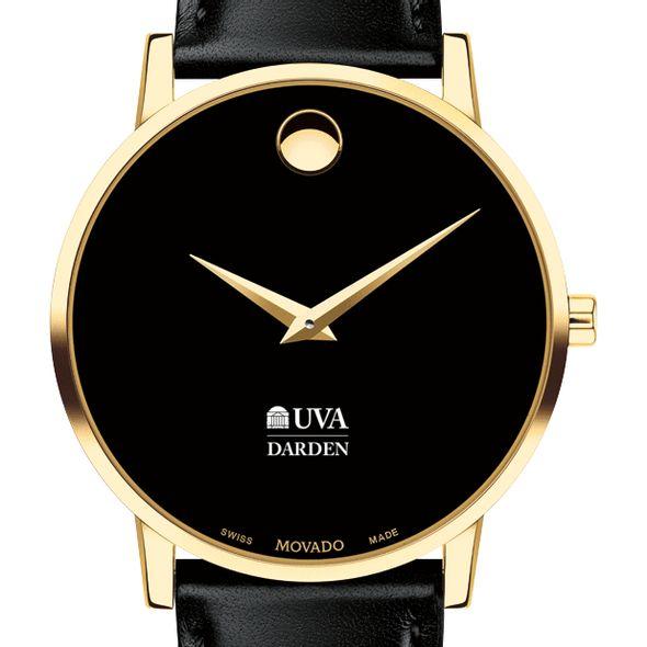 UVA Darden Men's Movado Gold Museum Classic Leather