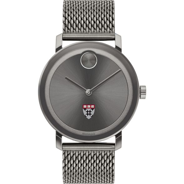 Harvard Business School Men's Movado BOLD Gunmetal Grey with Mesh Bracelet - Image 2