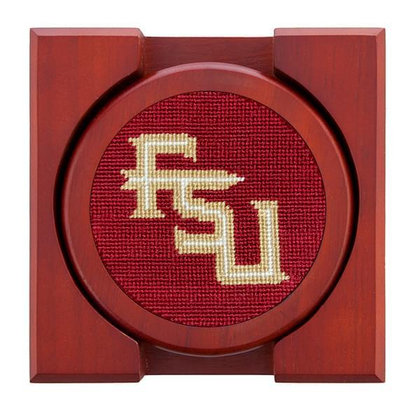 Florida State Needlepoint Coasters - Image 2