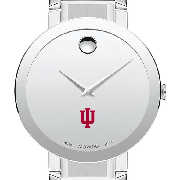 Indiana University Men's Movado Sapphire Museum with Bracelet