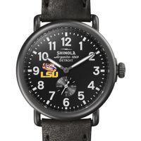 LSU Shinola Watch, The Runwell 41mm Black Dial