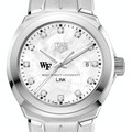 Wake Forest University TAG Heuer Diamond Dial LINK for Women - Image 1