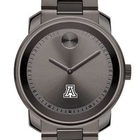 University of Arizona Men's Movado BOLD Gunmetal Grey