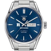 Rutgers University Men's TAG Heuer Carrera with Day-Date