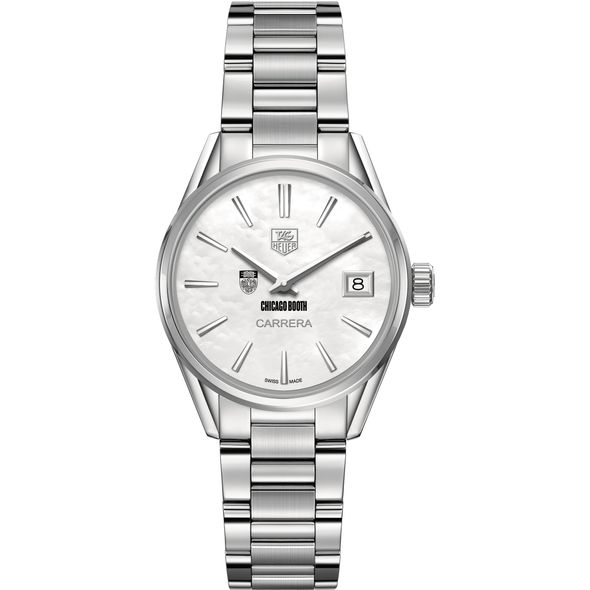 Chicago Booth Women's TAG Heuer Steel Carrera with MOP Dial - Image 2