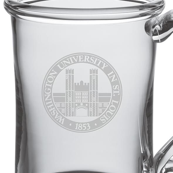 WUSTL Glass Tankard by Simon Pearce - Image 2