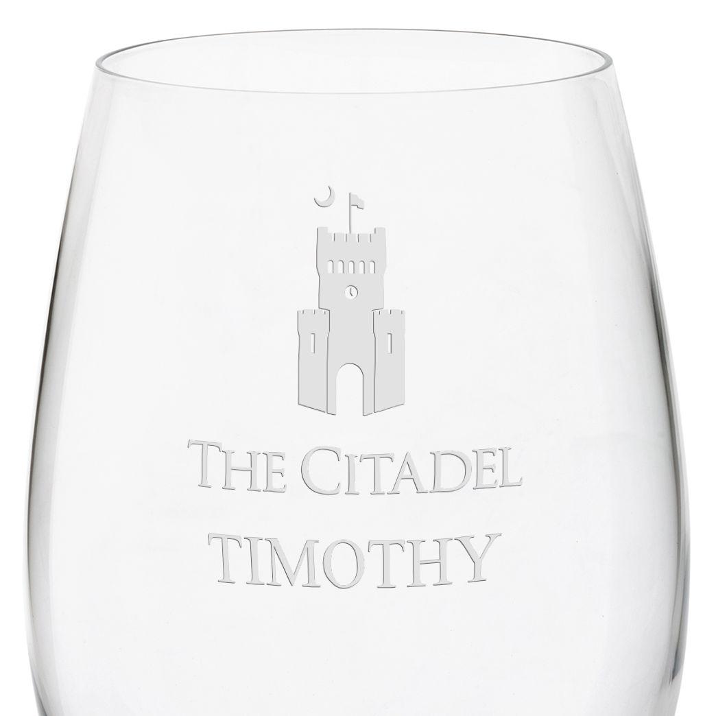 Citadel Red Wine Glasses - Set of 2 - Image 3