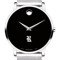 Rice University Men's Movado Museum with Mesh Bracelet