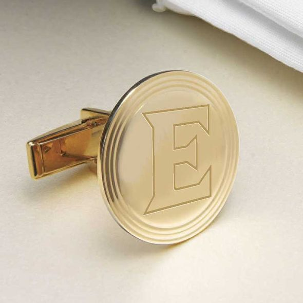 Elon 18K Gold Cufflinks - Image 2