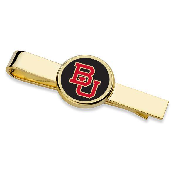 Boston University Enamel Tie Clip