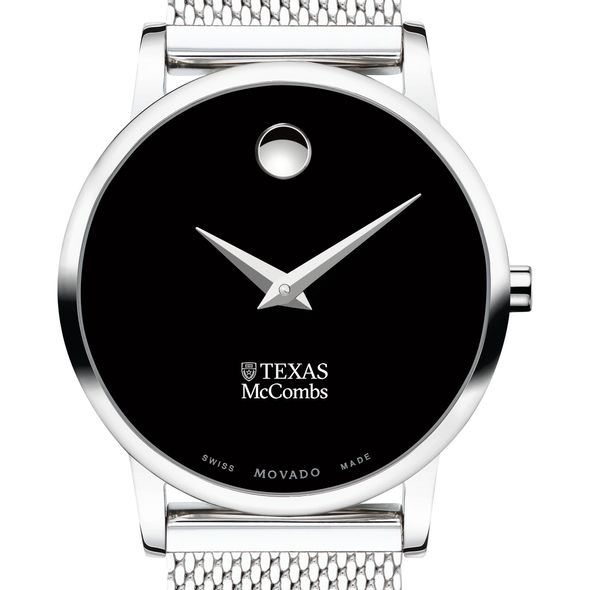 McCombs School of Business Women's Movado Museum with Mesh Bracelet - Image 1