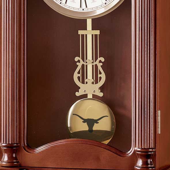 University of Texas Howard Miller Wall Clock - Image 2