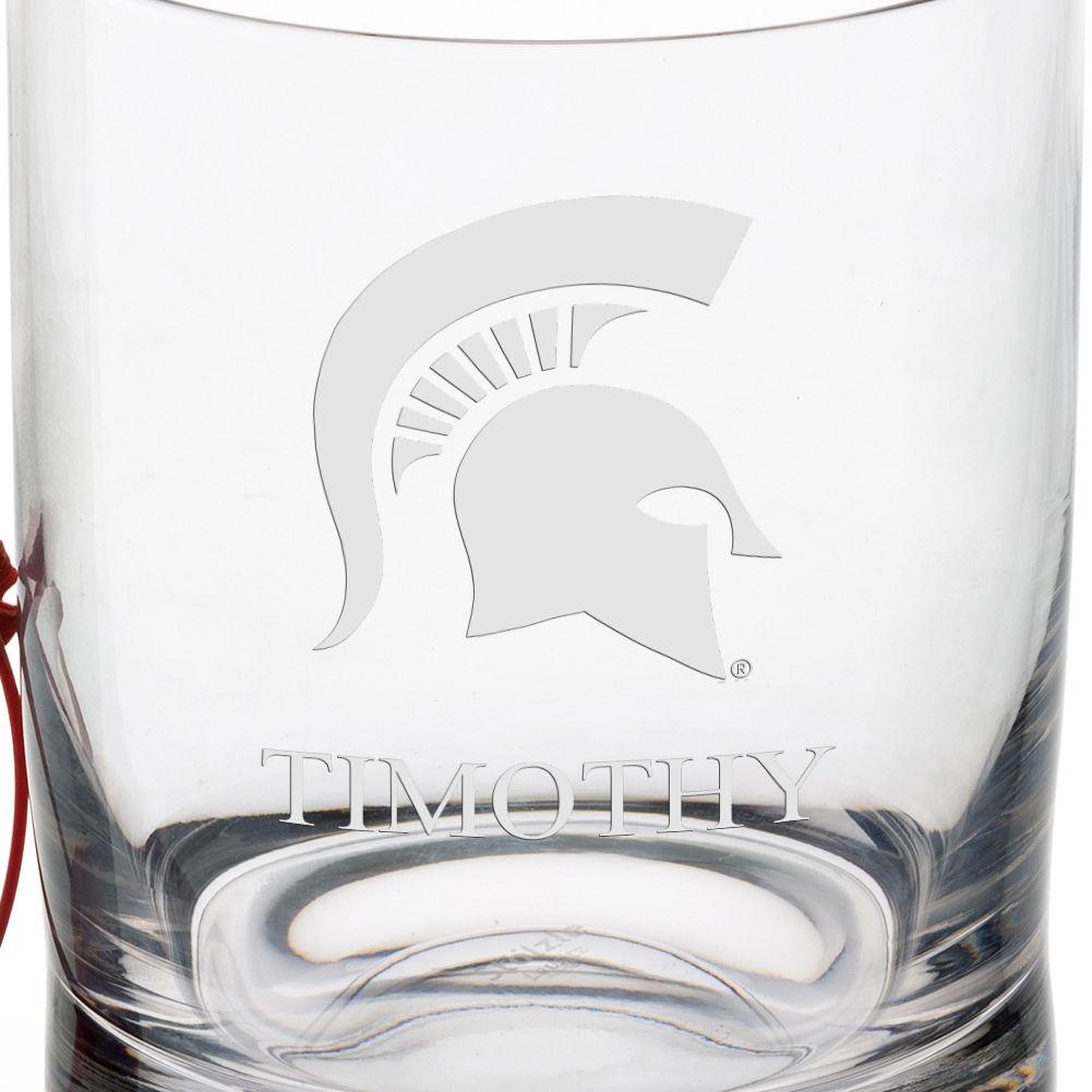 Michigan State University Tumbler Glasses - Set of 4 - Image 3