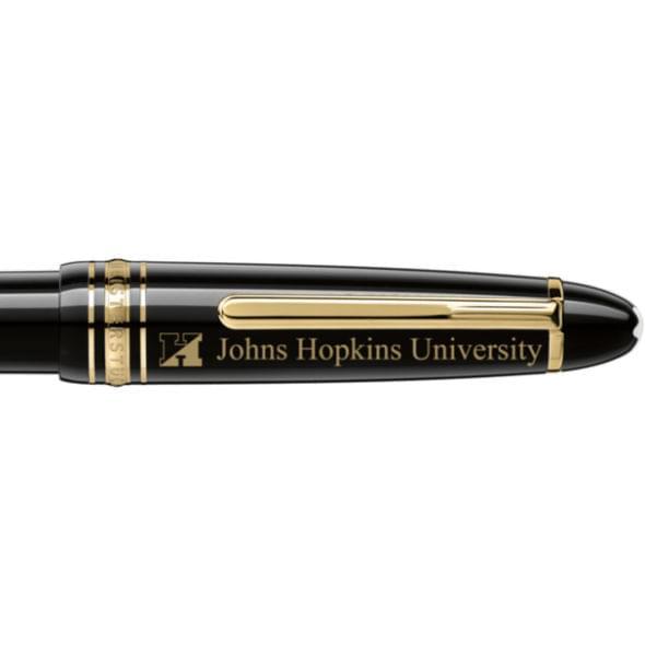 Johns Hopkins University Montblanc Meisterstück LeGrand Ballpoint Pen in Gold - Image 2